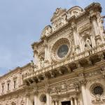 Basilica di Santa croce Lecce - antico belvdere