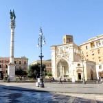 Piazza Sant'oronzo Lecce - antico belvdere